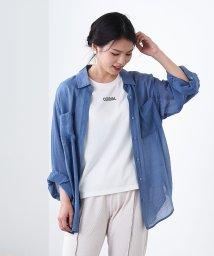 OLIVE des OLIVE/シア-ボイルBIGシャツ/503417016