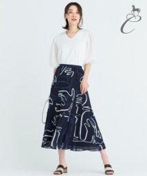 JIYU-KU /【Class Lounge】DANCING RIBBON スカート/503427963
