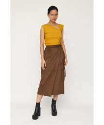 SLY/●VEGAN SUEDE WRAP スカート/503428079