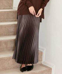 iCB/【マガジン掲載】Gloss Satin スカート(番号CE24)/503428607