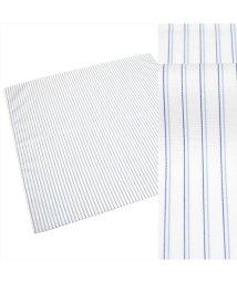 BRICKHOUSE/ハンカチ メンズ ウィメンズ 日本製 綿100% ブルー系 ストライプ柄/503428717