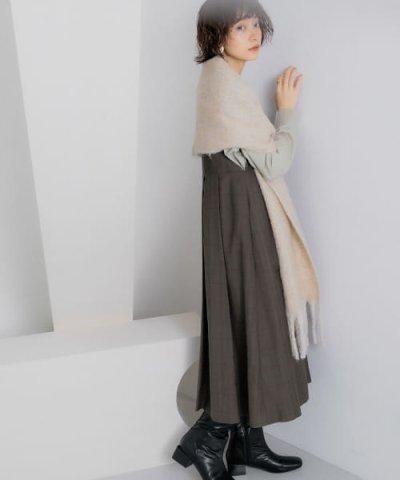 KBF/【WEB限定】BIGプリーツジャンパースカート/503429143