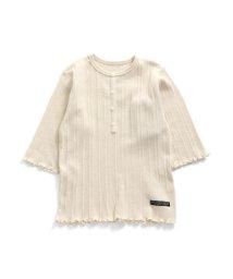 BREEZE/テレコ7分袖Tシャツ/503266946