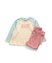 BREEZE/女児ロゴパジャマ 9分丈/503267235