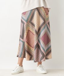 CARA O CRUZ/【LISA】ジオメトリックスカート/503401544