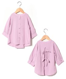 petit main/バックタックリボンシャツ/503416770