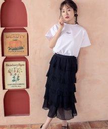 Cherie Mona/【CherieMona】ティアードプリーツスカート/503422043