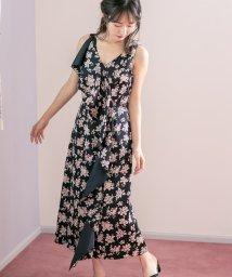 Cherie Mona/【CherieMona】MIIフラワーサテンドレープドレス/503422045