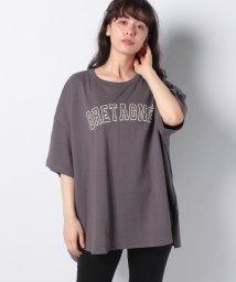 Samansa Mos2/【SM2】ロゴプリントTシャツ/503422329