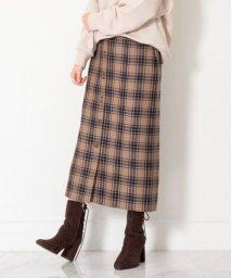 JILLSTUART/◆ベシーチェックタイトスカート/503424137