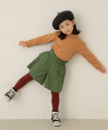URBAN RESEARCH DOORS(Kids)/【WEB/一部店舗限定サイズ】アウトポケットフレアキュロット(KIDS)/503429997