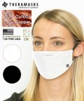 Copper Line/THERAMASKS セラマスク 抗菌銅繊維マスク ホワイト/503430324