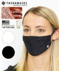 Copper Line/THERAMASKS セラマスク 抗菌銅繊維マスク ブラック/503430325