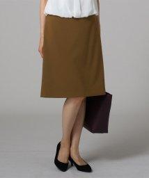 UNTITLED/ウーステッド台形スカート/503430999