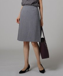 UNTITLED/[L]ウーステッド台形スカート/503431001