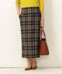 SHIPS any WOMENS/《予約》SHIPS any: チェックポケットタイトスカート/503431401