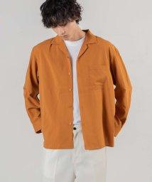 WEGO/イージーケアオープンカラーシャツ/503168124