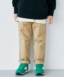 green label relaxing (Kids)/〔WEB限定〕ストレッチ ツイル テーパードパンツ/503405227