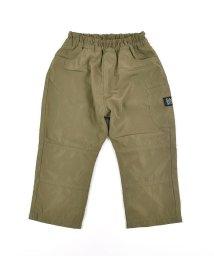 SLAP SLIP/膝切り替え ロゴワッペン タフタ パンツ (80cm~150cm)/503431520