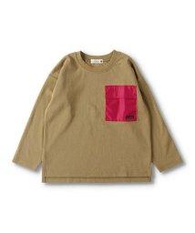 branshes/異素材ポケット長袖Tシャツ/503432004