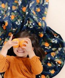CLEMENTINE KIDS/CLEMENTINE KIDS クレメンタインキッズ モスリン リバーシブル キルト オレンジブロッサム/503398329