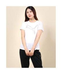 PUMA/プーマ PUMA レディース 半袖機能Tシャツ プーマ キャット Tシャツ 518801/503447627