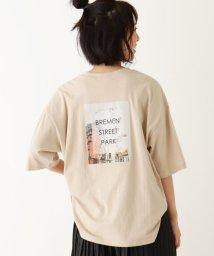 SHOO・LA・RUE Cutie Blonde/【S-L】バック転写プリントTシャツ/503448355