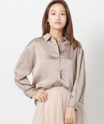 MISCH MASCH/とろみマットシャツ/503197884