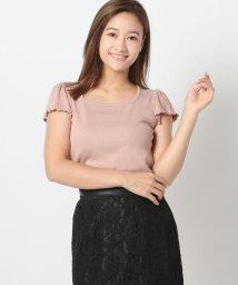 MISCH MASCH/スクエアネックリブTシャツ/503413572