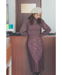 PROPORTION BODY DRESSING/ツイードタイトスカート/503448877