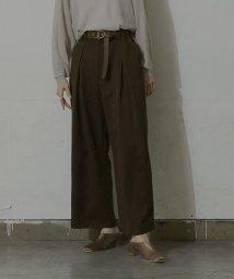 miette/クロスタックワイドパンツ/503448965