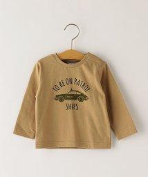SHIPS KIDS/SHIPS KIDS:はたらく車 プリント TEE(80~90cm)/503449730