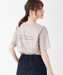 index/【WEB限定】シルケットスムースバックロゴTシャツ/503450201