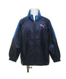 PUMA/プーマ PUMA ジュニア ウインドジャケット トレーニング ウラトリコット ウーブン ジャケット B 584966 (ネイビー)/503450241