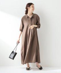 SLOBE IENA/ロングシャツドレス/503450566