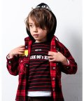 WASK/半袖 ボーダー + 長袖 星  ロング  コットン Tシャツ セット(110cm/503364194