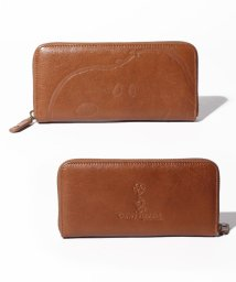 SNOOPY Leather Collection/スヌーピー/SNOOPY/ピーナッツ/PEANUTS/ラウンド束入れ/503402035