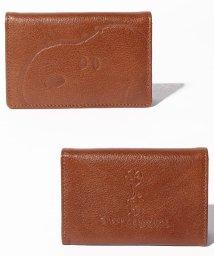 SNOOPY Leather Collection/スヌーピー/SNOOPY/ピーナッツ/PEANUTS/名刺入れ/503402037
