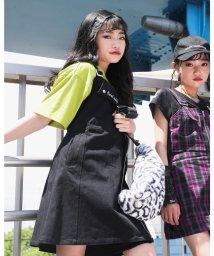 ZIDDY/ライダース 風 ストレッチ ツイル ジャンパー スカート (130cm~160c/503411087