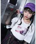 ZIDDY/【ニコプチ掲載】ガールズ フォト プリント Tシャツ (130cm~160cm)/503411099