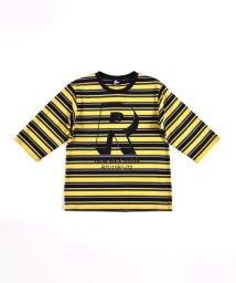 RAD CUSTOM/6部袖 ボーダー Tシャツ(120cm~160cm)/503411122