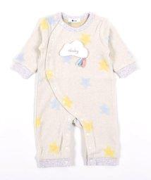 e-baby/星 前開き 長袖 ロンパース (60cm-80cm)/503423776