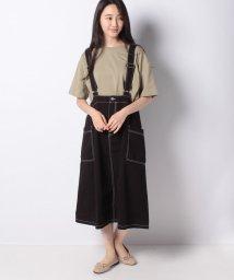 OLIVE des OLIVE/ビッグポケットジャンパースカート/503431925
