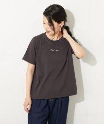OLIVE des OLIVE/シンプル刺繍ロゴTシャツ/503431933