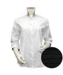 BRICKHOUSE/シャツ 七分袖 形態安定 スキッパー衿 透け防止 レディース ウィメンズ/503459885