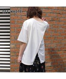 RM STORE/カットポンチ 2wayオーバーラップTシャツ mitis /503460772