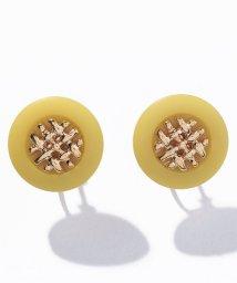 goldy/カラーボタンイヤリング/503424312
