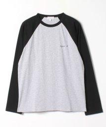 agnes b. HOMME/JG35 TS ロゴTシャツ/503449422
