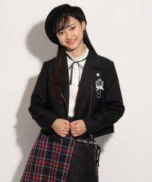 PINK-latte/【卒服】ライダースジャケット/マウスカバー付き/503464857