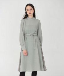 LOVELESS WOMEN/【予約販売】ハイネック ドレープ ドレス/503404070